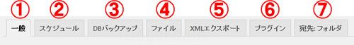 BackWPup手動バックアップタブ