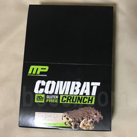 MusclePharmマッスルファーム コンバットクランチ チョコレートチップクッキードー おすすめ購入品