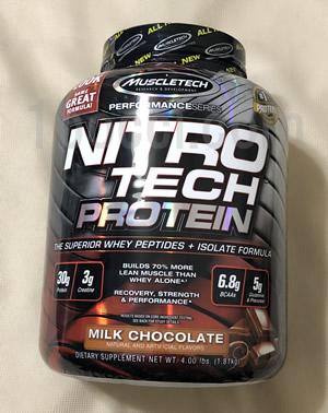 Muscletech ニトロテックホエイペプチドとアイソレート プライマリーソース購入品おすすめレビュー