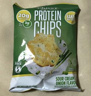Quest Nutrition プロテインチップス サワークリーム&オニオンのレビュー