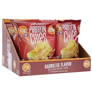 Quest Nutrition プロテインチップス バーベキューフレーバー