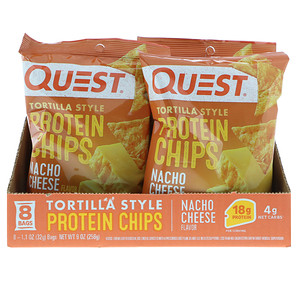 Quest Nutrition プロテインチップス ナチョーチーズ味