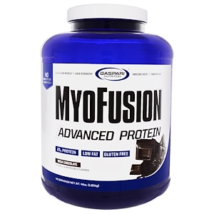 Gaspari Nutrition MyoFusion Advanced Protein Milk Chocolate 4lbs(1.81kg)