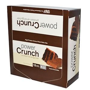 BNRG パワークランチ プロテインエネルギーバーオリジナルトリプルチョコレート味