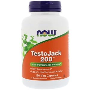 Now Foods TestoJack 200カプセル