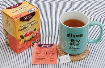 Yogi Tea ポジティブなエネルギー(Positive Energy)スイートタンジェリン口コミ