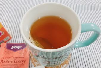 Yogi Tea ポジティブなエネルギー(Positive Energy)スイートタンジェリン香り口コミ