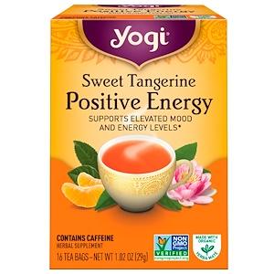 Yogi Tea ポジティブなエネルギースイートタンジェリン16ティーバッグ