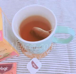Yogi Tea エキナセア免疫サポート(Echinacea Immune Support)カフェインサポート効果・効能