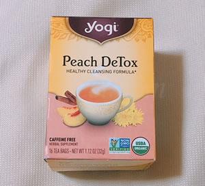 Yogi Tea/Peach DeTox ピーチデトックス カフェインフリー