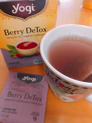 Yogi Tea/DeTox ベリーデトックスの口コミ・レビュー