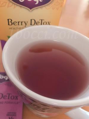 Yogi Tea/DeTox ベリーデトックスの味