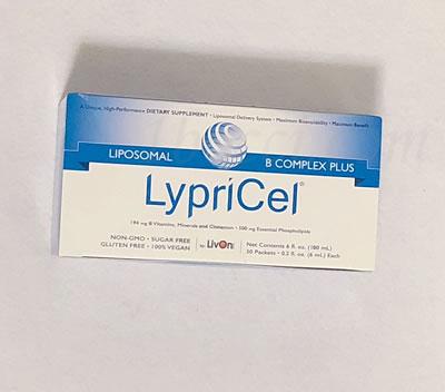 LypriCel リポソームBコンプレックスプラスのレビュー