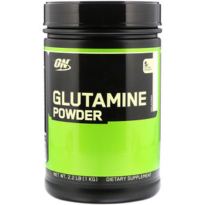 Optimum Nutrition, グルタミンパウダー, 味付けなし, 2.2ポンド(1 kg)