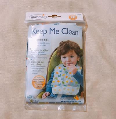 Summer Infant(サマーインファント)キープ・ミー・クリーン使い捨てよだれかけ