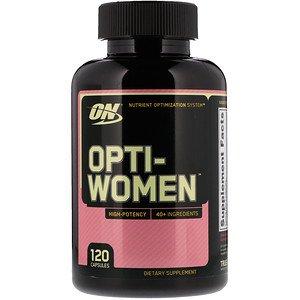 Optimum Nutrition, オプティウーマン、120カプセル