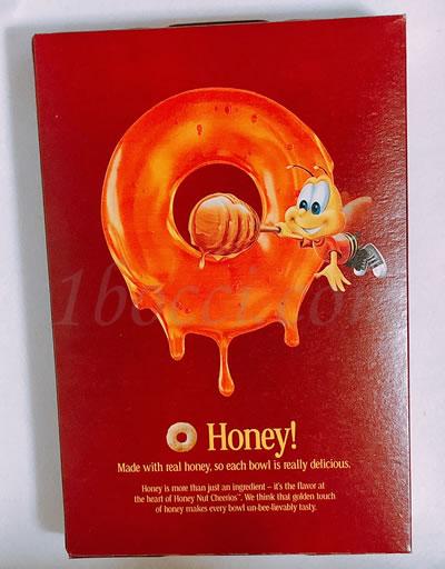 General Mills Honey Nut Cherrios(ジェネラルミルズハニーナットチーリオス)のハチのマスコット