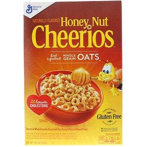 General Mills Honey Nut Cherrios(ジェネラルミルズハニーナットチーリオス)10.8オンス (306 g)