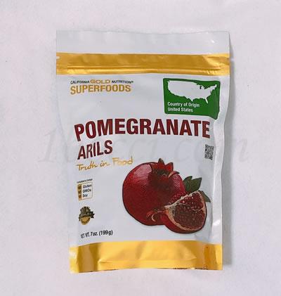 CGN(California Gold Nutrition) スーパーフード ザクロの種の袋