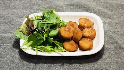 「ホタテの唐揚げ」北海道紋別市の返礼品「帆立」の食レポ♪